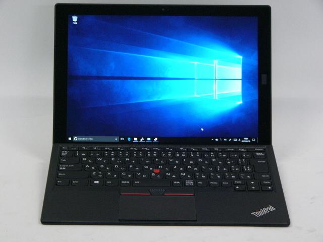 【再生品】ThinkPad X1 Tablet + プロダクティビティーモジュール /Win 10 Pro /Core m5-6Y54 /128GB 8GB FHD+