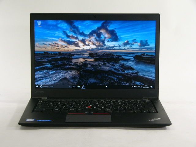 【再生品】ThinkPad T460s /Win 10 Pro /Core i7-6600U /512GB 16GB FHD 930M