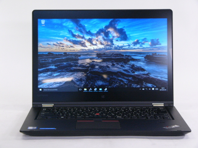 【再生品】ThinkPad P40 Yoga /Win 10 Pro /Core i7-6500U /512GB 16GB WQHD Quadro タッチ+ペン