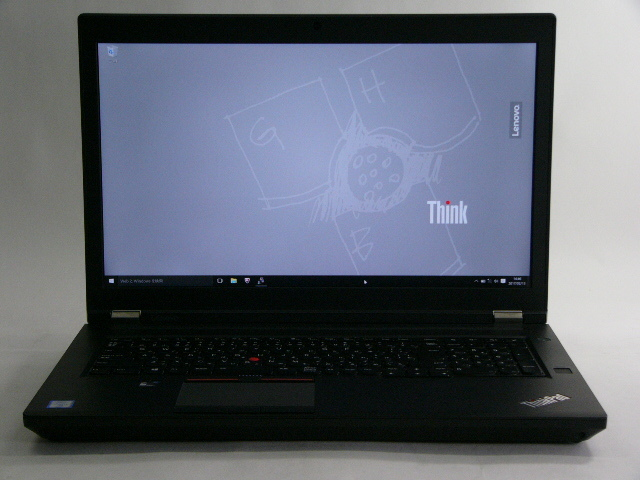 【再生品】ThinkPad P70 /Win 10 Pro /Core i7-6700HQ /256GB+1TB 32GB 4K M600M