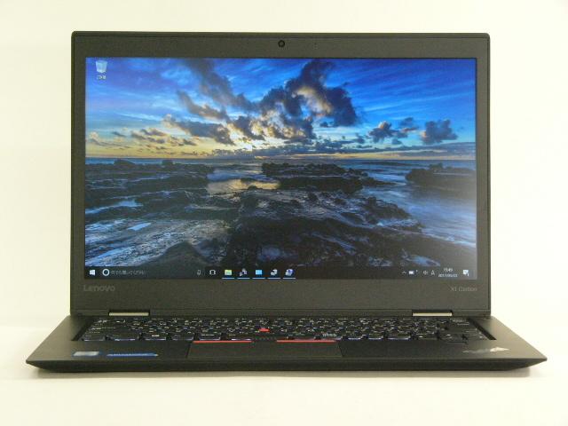 【再生品】ThinkPad X1 Carbon /Win 10 Pro /Core i5-6300U /256GB 8GB FHD