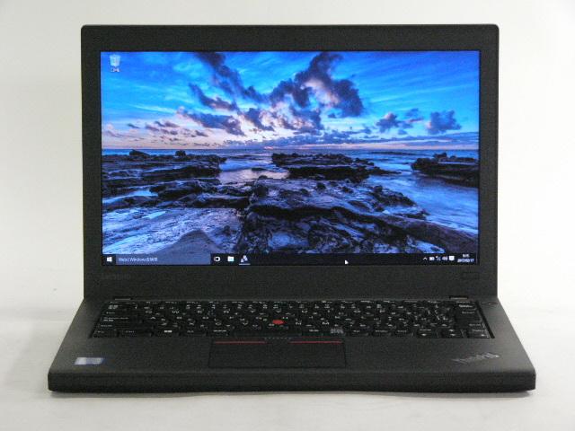 【再生品】ThinkPad X260 /Win 10 /Core i7-6500U /256GB 8GB