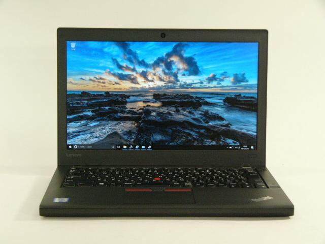 【再生品】ThinkPad X260 /Win 10 Pro /Core i7-6500U /256GB 16GB FHD