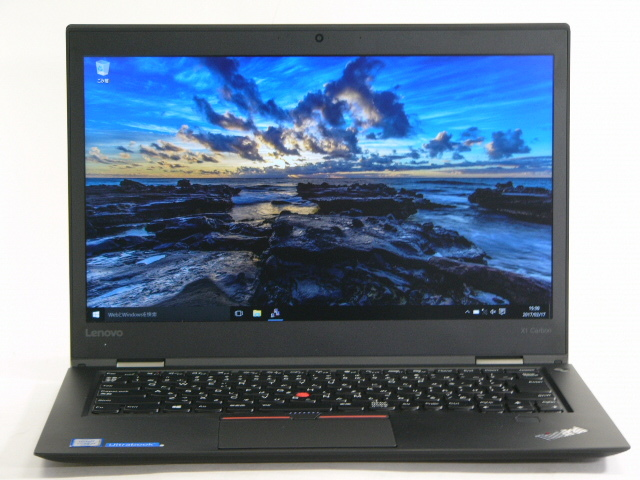 【再生品】ThinkPad X1 Carbon /Win 10 /Core i7-6600U /512GB 16GB FHD