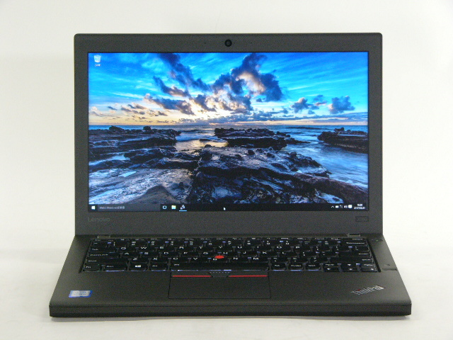 【再生品】ThinkPad X260 USキー /Win 10 /Core i7-6500U /256GB 16GB FHD 6セル