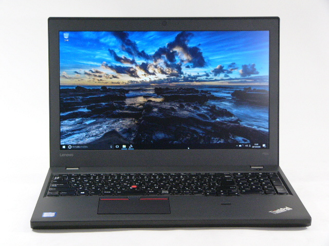 【再生品】ThinkPad P50s /Win 10 Pro /Core i7-6600U /512GB 32GB FHD M500M