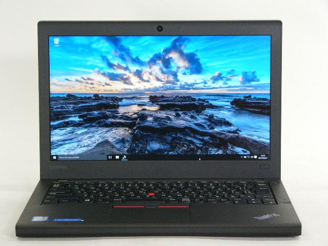 【再生品】ThinkPad X260 /Win 10 Pro /Core i7-6600U /256GB 8GB FHD