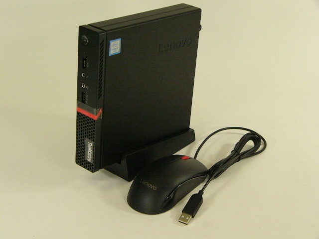 【再生品】ThinkCentre M700 Tiny /Win 10 Pro /Core i7-6700T /500GB 8GB キーボードなし