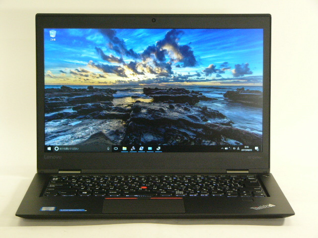 【再生品】ThinkPad X1 Carbon /Win 10 Pro /Core i5-6300U /256GB 8GB FHD