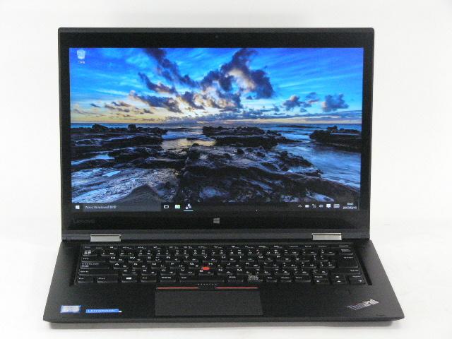 【再生品】ThinkPad X1 Yoga /Win 10 /Core i7-6600U /512GB 16GB WQHD タッチ+ペン