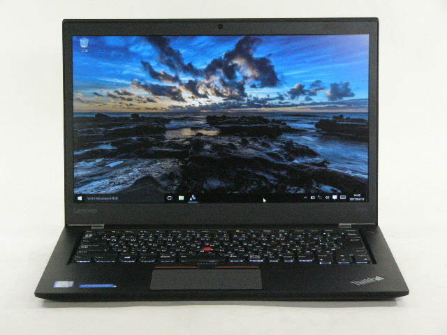 【再生品】ThinkPad T460s タッチ /Win 10 /Core i5-6200U /256GB 8GB FHD + WiGigドック