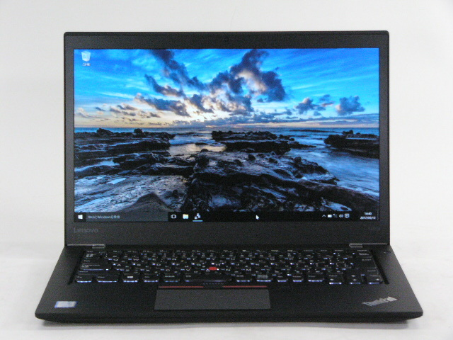 【再生品】ThinkPad T460s /Win 10 /Core i7-6600U /256GB 12GB FHD