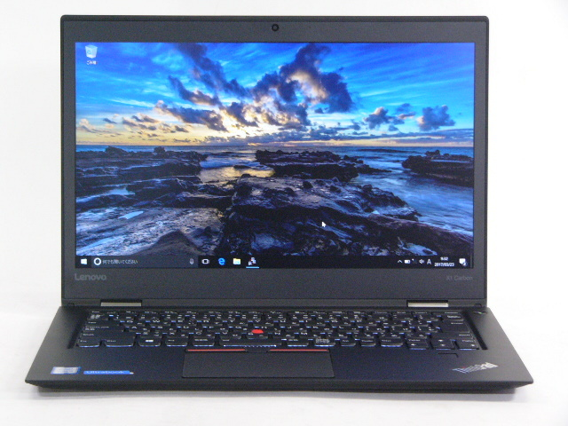 【再生品】ThinkPad X1 Carbon /Win 10 /Core i5-6200U /256GB 8GB FHD