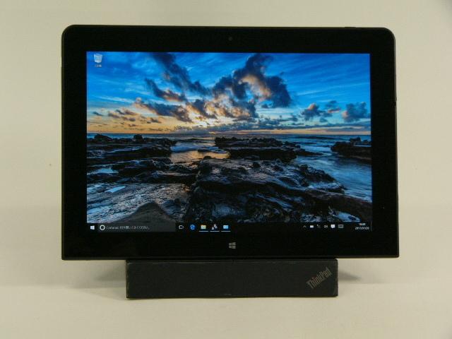 【再生品】ThinkPad 10 (Gen 2) Windows タブレット /Win10 Pro /Atom x7-Z8570 /64GB 4GB + Tabletドック ペン欠品