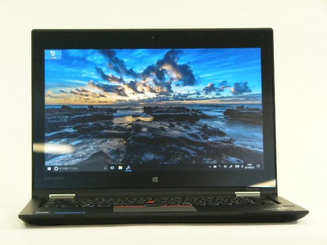 【再生品】ThinkPad Yoga 260 /Win 10 Pro /Core i5-6300U /256GB 8GB IPS タッチ+ペン