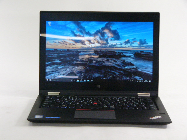 【再生品】ThinkPad Yoga 260 /Win 10 Pro /Core i3-6100U /256GB 8GB FHD タッチ+ペン