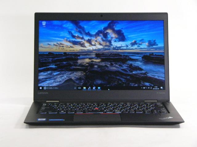 【再生品】ThinkPad X1 Carbon /Win 10 Pro /Core i7-6500U /256GB 8GB WQHD