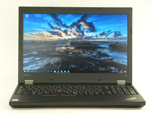 【再生品】ThinkPad L560 /Win 10 Pro /Core i7-6600U /512GB 8GB FHD