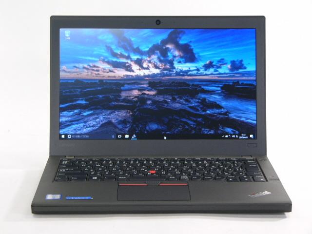 【再生品】ThinkPad X260 /Win 10 Pro /Core i5-6300U /128GB 4GB