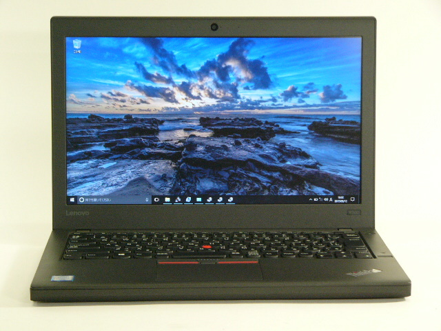 【再生品】ThinkPad X260 /Win 10 Pro /Core i7-6600U /500+8GB 16GB