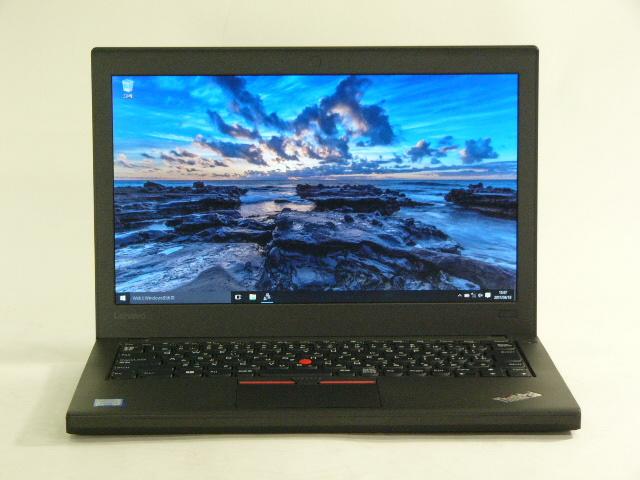 【再生品】ThinkPad X260 /Win 10 /Core i5-6200U /256GB 8GB