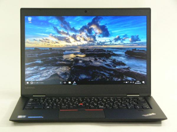 【再生品】ThinkPad X1 Carbon /Win 10 Pro /Core i5-6200U /256GB 8GB FHD