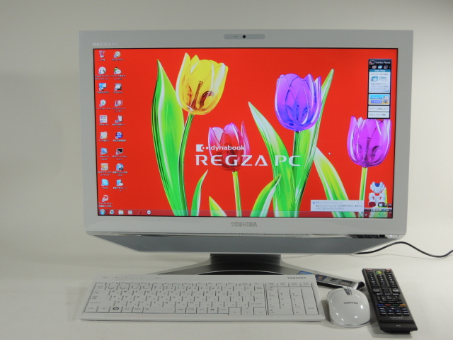 【展示品】REGZA PC PD731T7EBFW/Win 7 HP/Core i7/2TB 8GB BD