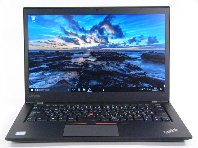 【再生品】ThinkPad T460s /Win 10 Pro /Core i5-6200U /256GB 8GB FHD