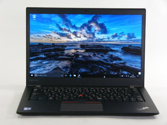 【再生品】ThinkPad T460s /Win 10 Pro /Core i7-6600U /512GB 8GB FHD