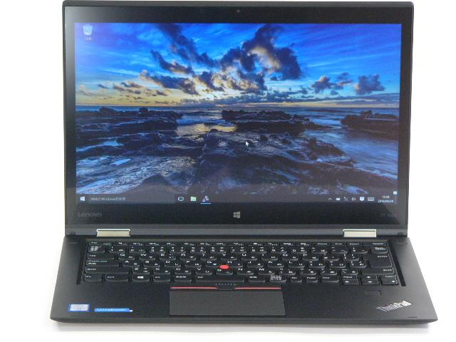 【再生品】ThinkPad X1 Yoga /Win 10 /Core i7 /512GB 8GB WQHD タッチ+ペン