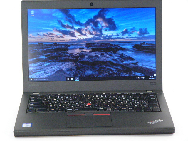 【再生品】ThinkPad X260 /Win 10 Pro /Core i5-6300U /180GB 4GB