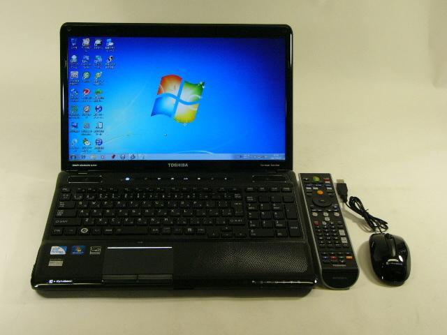 【再生品】東芝 Qosmio T560/T4AB /Win 7 HP /Pen-P6100 /500GB 4GB BD 地デジ office
