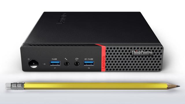 ■新品■ThinkCentre M700 Tiny /Win 10 /Core-i5-6400T /128GB 4GB 保証無