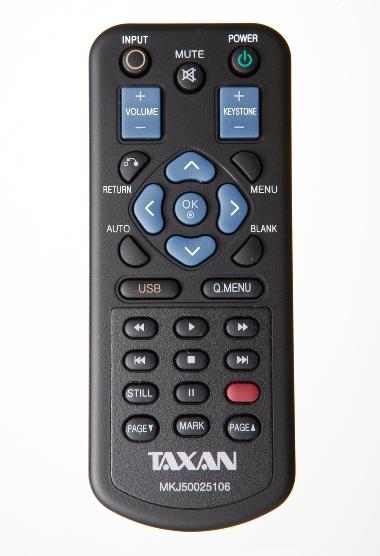 TAXAN KG-PL011S用リモコン