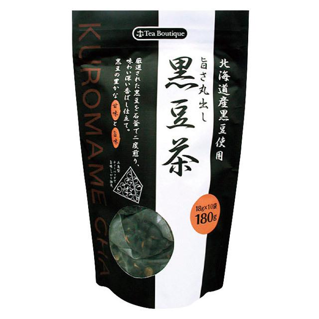 旨さ丸出し黒豆茶(北海道産黒豆使用) 10袋入り 品番1462