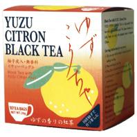 【アルミ個包装】ゆず紅茶[国産柚子使用] 品番1479