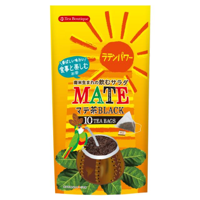 【日本マテ茶協会推奨】マテ茶三角ティーバッグ/マテ・ブラック 品番1770