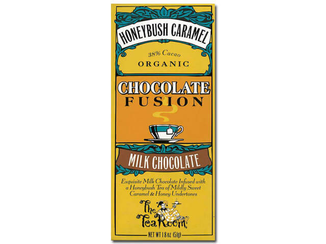 ティールーム・オーガニックチョコレート/ハニーブッシュキャラメル 品番1947
