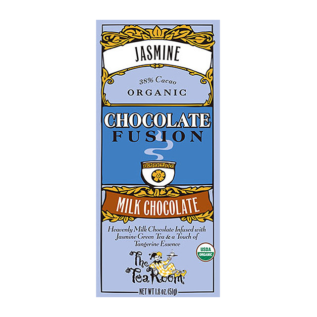ティールーム・オーガニックチョコレート/ジャスミン 品番1948