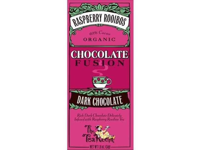 ティールーム・オーガニックチョコレート/ラズベリールイボス ダークチョコレート