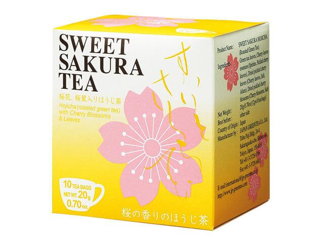 【アルミ個包装】スイートサクラティー ほうじ茶ティーバッグ 品番S-10