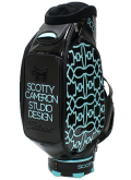 Caddie Bag Dog Pattern Blue