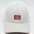 Cap Crown Logo Patch White