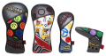 Patchwork Headcover SET-5