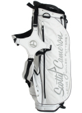Stand Bag White&Silver&Black