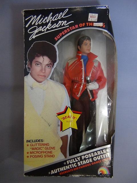 マイケルジャクソン人形