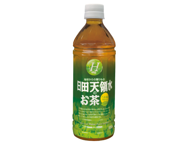日田天領水のお茶500mlペットボトル×24