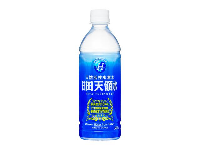 日田天領水500mlペットボトル×24