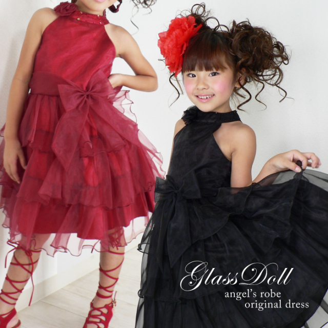 子供ドレス 激安 訳ありオリジナル 子供ドレス『glassdoll』 ワンピース 子供フォーマル 発表会