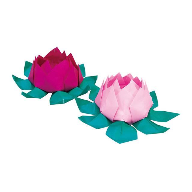 ハート 折り紙 折り紙 蓮の花 折り方 : teratomo.jp